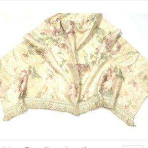 Croscill Discontinued Antique Rose 6 Curtains